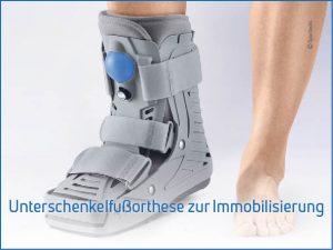 Unterschenkelorthese-zur-Immobiliserung
